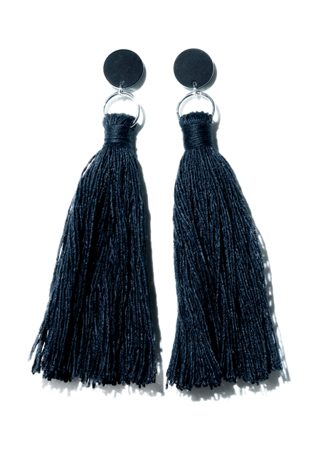 fringe pierce (black)