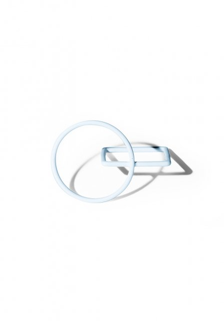 solidity ring (matte white)