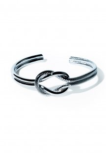 grade gentle loop bangle(silver)