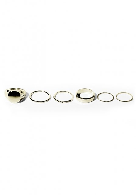 complete ring ring set(gold)