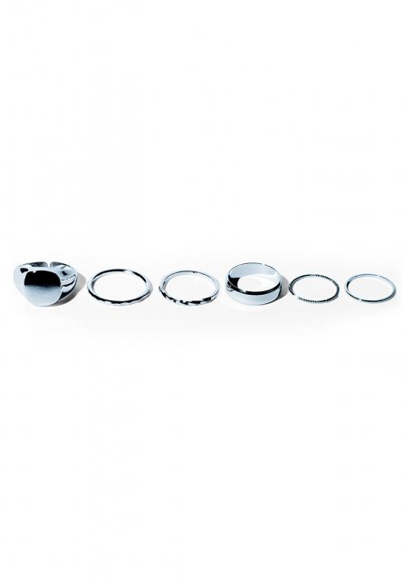 complete ring ring set(silver)
