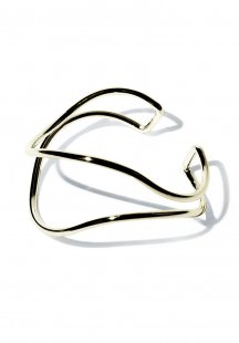 curve bangle (gold)