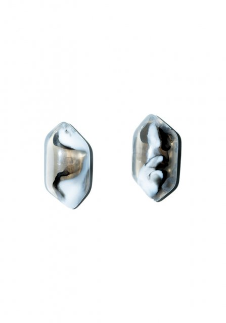 marble stone pierce (black)