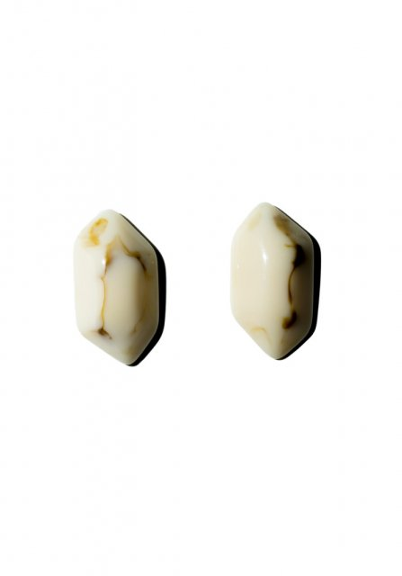 marble stone pierce (white)