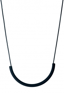 all black necklace type1 (black)