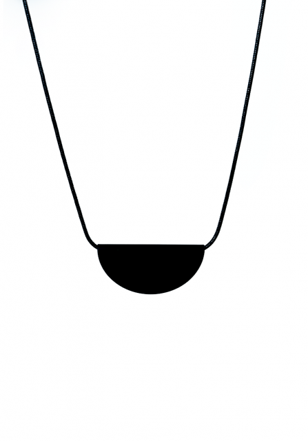 all black necklace type2 (black)