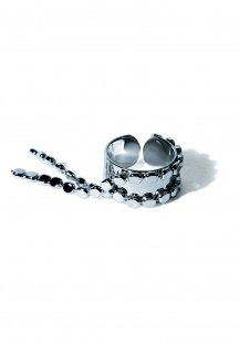 sway chain ring (silver)