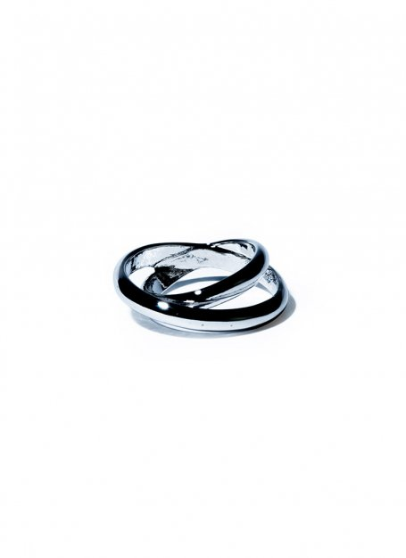 overhead crossing ring(silver)