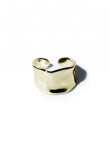 billow circle ring(gold)
