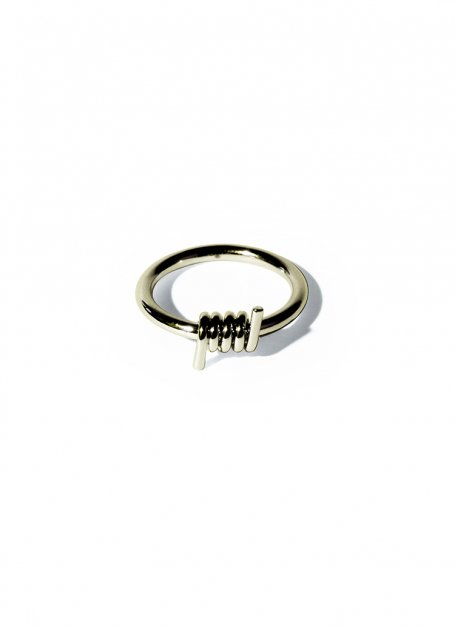 scroll design ring (gold)