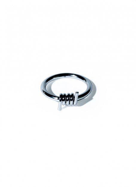 scroll design ring (silver)