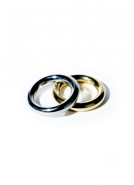 dichromic ring set (silver×gold)
