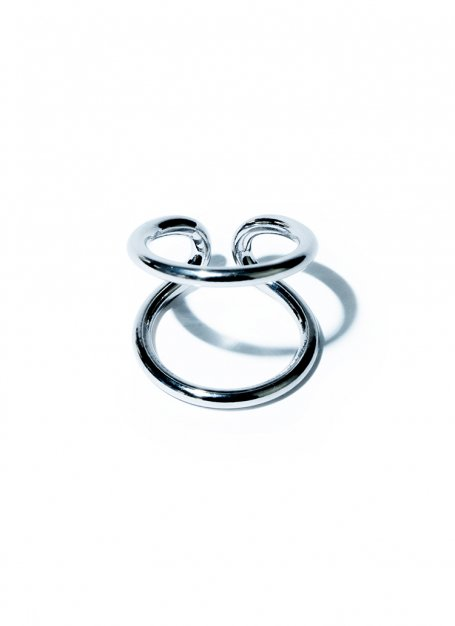 border line ring(Silver)
