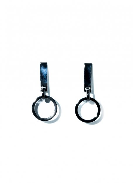 sway circle pierce(black)