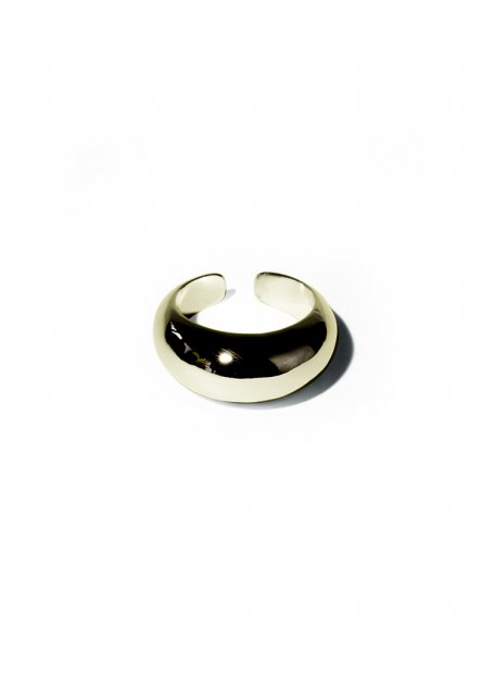 crescent moon ring (gold)
