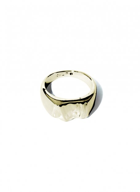 bumpy design ring (gold)
