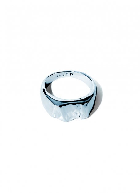 bumpy design ring (silver)