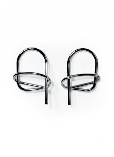 bent wire pierce(silver)