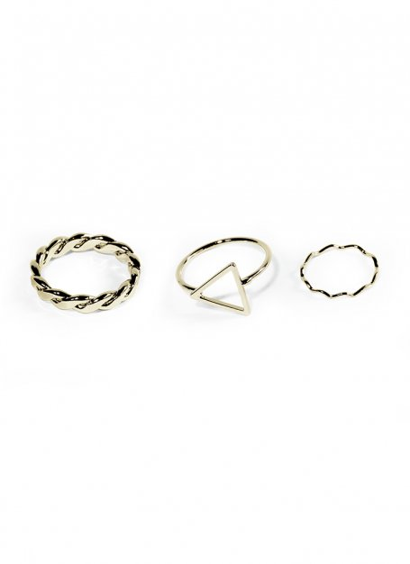ancient ring set (gold)