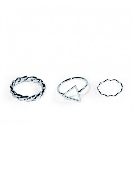 ancient ring set (silver)