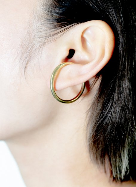 loop design ear cuff (gold)