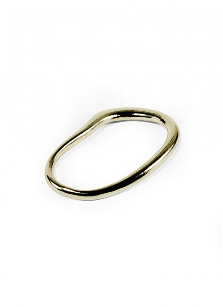fin hoop ring (gold)