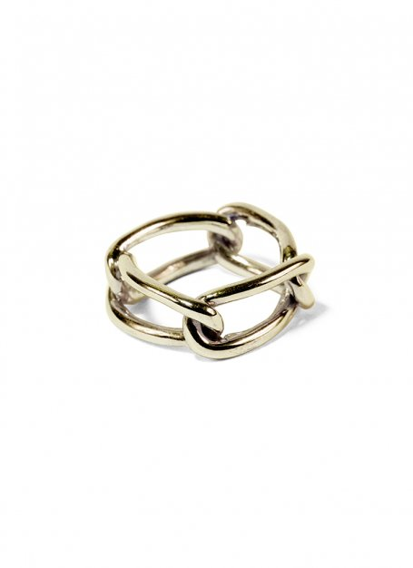 quattro chain ring (gold)