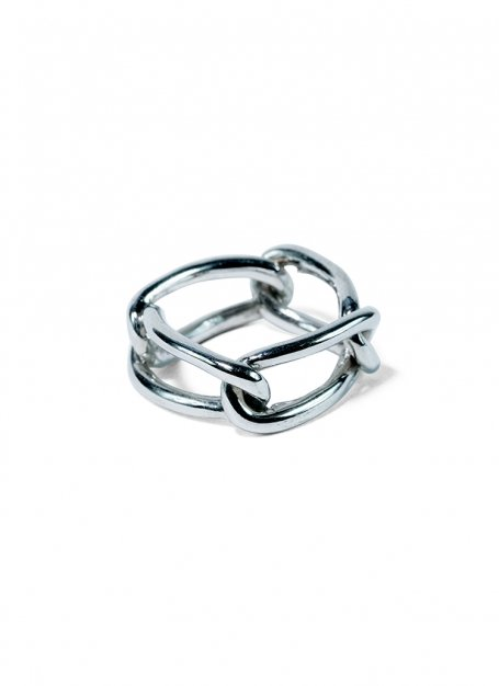 quattro chain ring (silver)