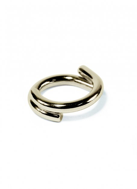 semicircles design ring (gold)