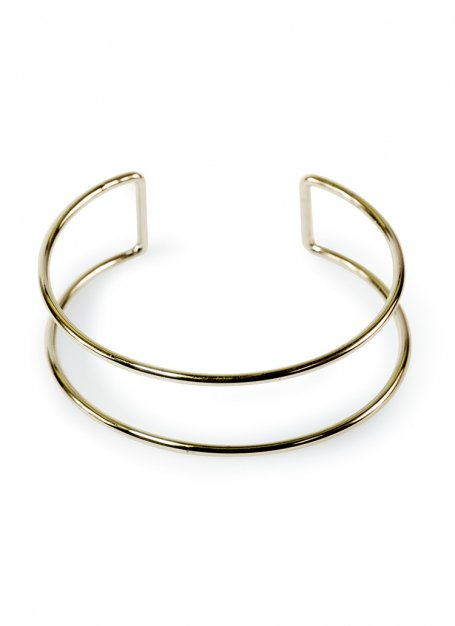 Obi design bangle (gold)
