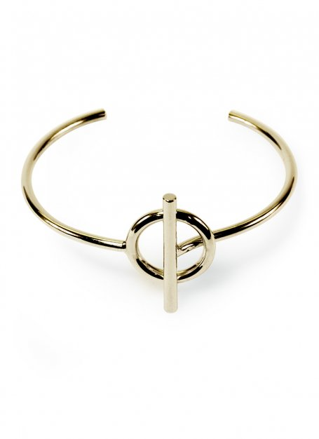 anchorage bangle (gold)