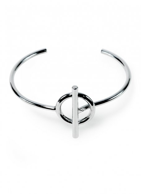 anchorage bangle (silver)