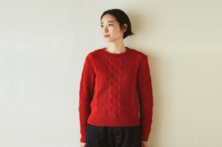 シェットランドウールのセーター