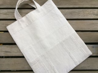 quilting patchwork tote bag (antique linen)