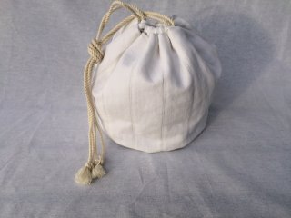 antiquelinen ball bag