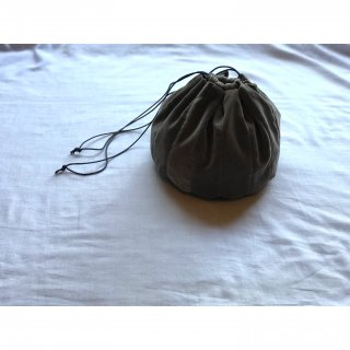 velveteen ball bag (M)