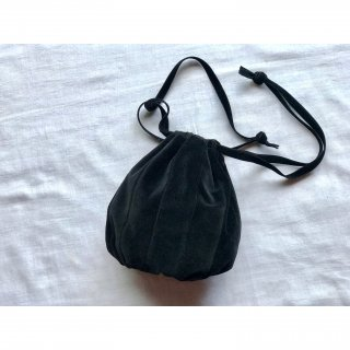 velveteen ball bag (S)