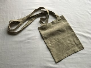 shoulder tote bag (antique linen)