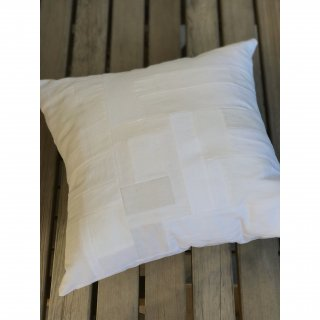 antique linen patchwork  cushioncover