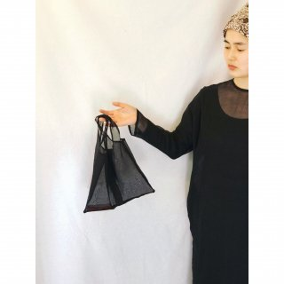 cotton organdy mini tote