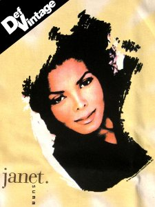 "'94 Janet Jackson ""Summer Tour"" T-Shirt"