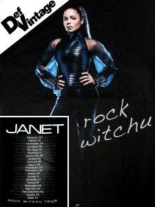 "'08 Janet Jackson ""Rock Wit chu"" Tour Tee"