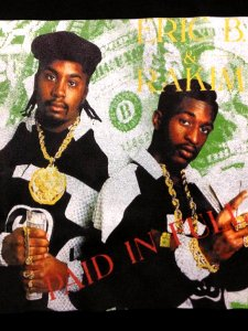 "Eric B & Rakim ""paid In Full"" T-Shirt"