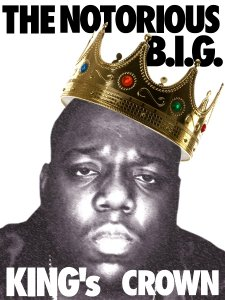 Biggie's Jewel King Crown