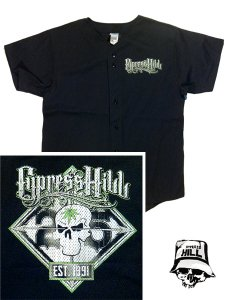CYPRESS HILL 25th ANNIVERSARY TOUR BB JERSEY
