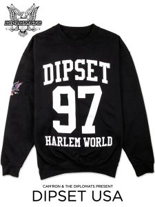 "DIPSET USA ""The Harlem World Killa"" Sweatshirt"