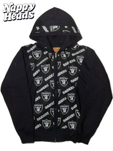 """Raiders"" Vintage Cloth Remake Zip Hoodie"
