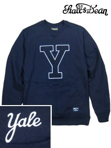 YALE Kangaroo Crewneck Fleece