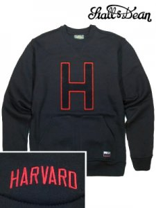 HARVARD CRIMSON Kangaroo Crewneck Fleece