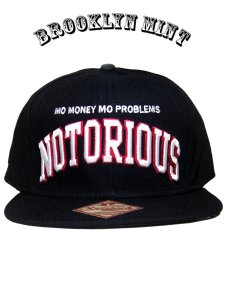 "The Notorious B.I.G. ""NOTORIOUS"" Snapback Cap"